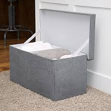 Gray Storage Bench Jj Cole Storage Bench Bed Bath U0026 Beyond
