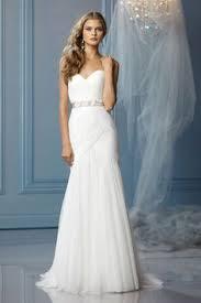 column wedding dresses summer informal bridal dress with overskirt bc711