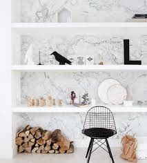 marble wall art wallpaper white peel and stick