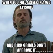 Rick Grimes Memes - disappointed rick grimes meme generator