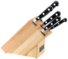 stellar kitchen knives stellar 5 knife block set