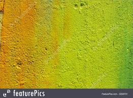 shades of yellow photo of wall painted in shades of yellow and green