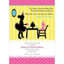 party with baby dolls u0026 tutus birthday party printable invitation