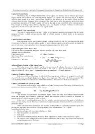 Federal Government Resume Samples by Econometrics Analysis Of Capital Adequacy Ratios And The Impact On Pr U2026