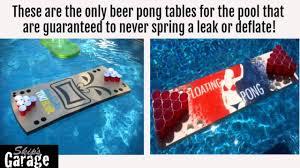 Pool Beer Pong Table by Foam Floating Beer Pong Tables Custom Foam Floating Tables By
