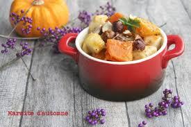 cuisine d automne marmite de légumes d automne à patate douce butternut et pomme
