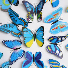 Diy Butterfly Decorations by Aliexpress Com Buy Big Size 3d Butterfly Wall Stickers