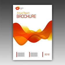 technical brochure template orange brochure template psd file free