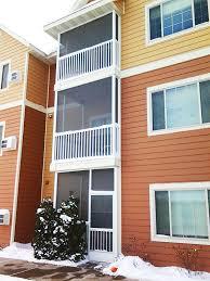 apartment screen enclosures balcony screens u0026 porches