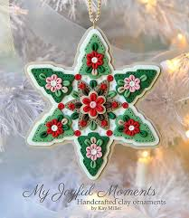 polymer clay ornaments images polymer clay winter