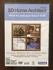 Encore D Home Architect Home Design Deluxe  Retail Full - 3d home architect design deluxe