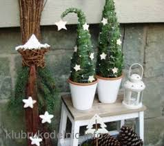 miniature potted trees diy cozy home