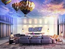 Ceiling Design Ideas For Living Room Top 3d Ceiling Designs And Murals On False Ceiling 2018