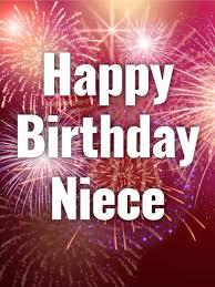 time to celebrate happy birthday card for niece birthday