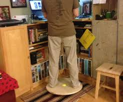 Cheap Sit Stand Desk by Diy Balance Board 4 Steps With Pictures