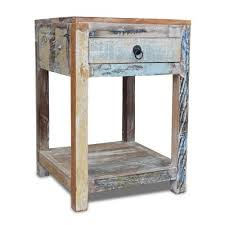 recycled bed tables u0026 nightstands by obuzi