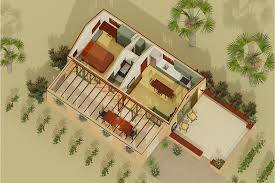 Adobe Style Home Plans Adobe Southwestern Style House Plan 1 Beds 1 Baths 398 Sq Ft