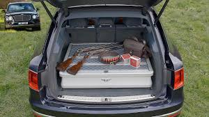 bentley bentayga trunk bentley bentayga field sports by mulliner lifestyle accessory