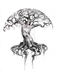 cool trees cool tree drawings drawing sketch library
