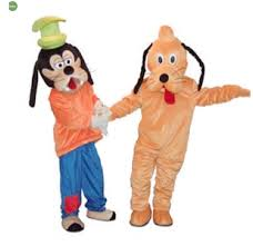 goofy and pluto mascot costume halloween mascot costumes for sale