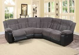 Brown Sectional Sofa With Chaise Furniture Sectional Sofa With Recliner Sofa Gray Power