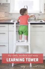 easy diy learning tower learning tower ikea stool and start with