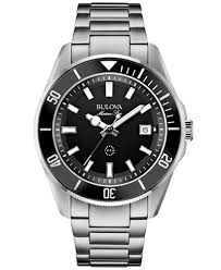 metal bracelet watches images Bulova men 39 s marine star stainless steel bracelet watch 43mm 98b203 jpeg