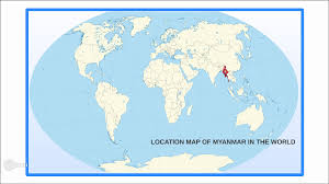 Map Burma Myanmar River Map Burma Rivers And World Utlr Me