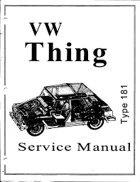 volkswagen type 181 thing amazon com 1973 1974 volkswagen vw thing type 181 shop manual