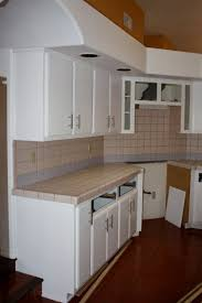 Where To Put Handles On Kitchen Cabinets Remodelaholic Quick Install Of Concrete Countertops Kitchen