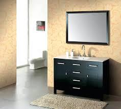 48 single sink vanity with backsplash 48 inch single sink vanity andreuorte com