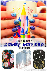 a manicure fit for a disney princess sarah in the suburbs