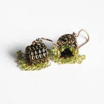 Peridot Chandelier Earrings Earrings Products Pinklion