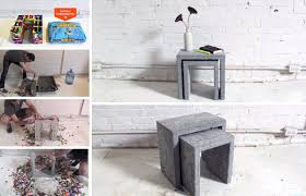 Concrete Garden Furniture Molds by Fiery Diy Make Your Own Super Cool Modern Concrete Fire Pit