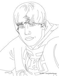 justin bieber coloring pages hello kids free here