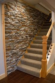 inexpensive home decor decor dazzling faux stone wall for home decoration ideas