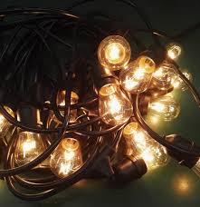 edison light string s14 led string lights edison decorative 48ft 15 bulbs light