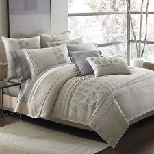 Kohls Queen Comforter Sets Rectangle Cream Leather King Headboard With Soft Gray California