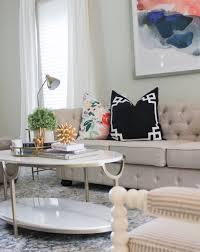 a living room sneak peek featuring high fashion home kiss me darling