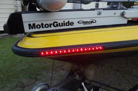 installing led lights on boat rub rail bluewater leds installed the hull truth boating and