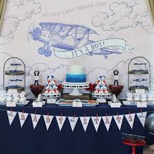 precious cargo baby shower vintage airplane baby shower popsugar