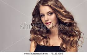 images of hair brunette girl long shiny curly hair stock photo 721253956