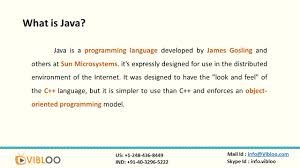 introduction to java programming ppt video online download