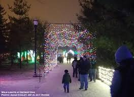 Detroit Zoo Wild Lights Guest View A Great Night For Wild Lights The Oakland County Times