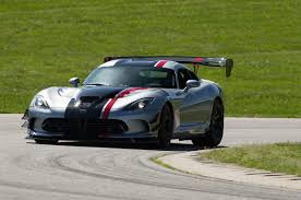 dodge sports car 2016 dodge viper acr is undisputed track record king sports car