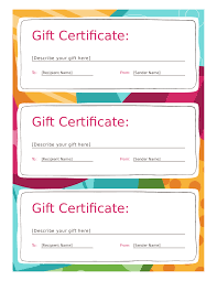 Prize Certificate Template Best Gift Voucher Templates Free Printable Contemporary Office