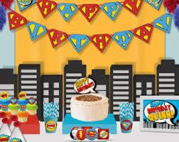 Cake Decorations Store Comic Pop Art Etsy