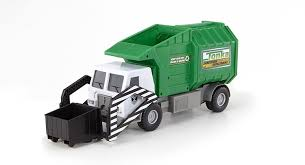 amazon com tonka mighty motorized garbage ffp truck toys u0026 games
