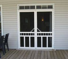 French Patio Doors With Screen by How To Screen French Doors For Only 35 Each Funky Junk