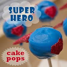 superhero cake pops tutorial u2013 edible crafts